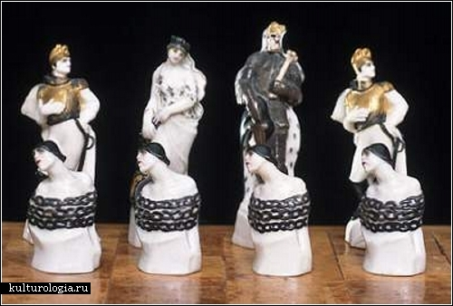 Необычные наборы шахматных фигур. Обзор, часть 1