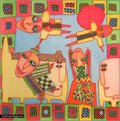 Позитивный и красочный сюрреализм Вадима Ряховского