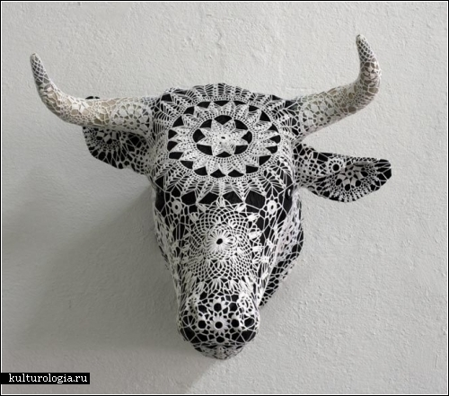 Кружевные арт-объекты Джоаны Васконселос (Joana Vasconcelos)