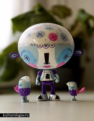 Коллекция креативных игрушек для взрослых и детей