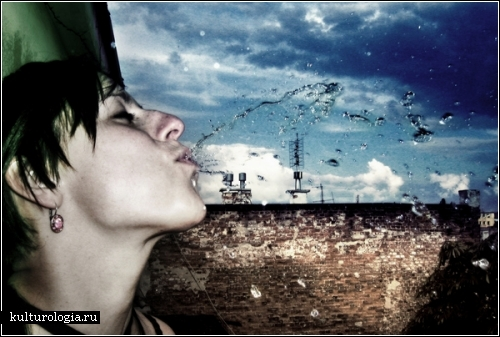*Мокрый* фотопроект Марчина Цецко (Marcin Cecko)