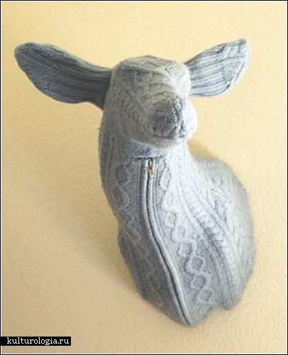 Вязаные скульптуры Рэчел Денни (Rachel Denny)