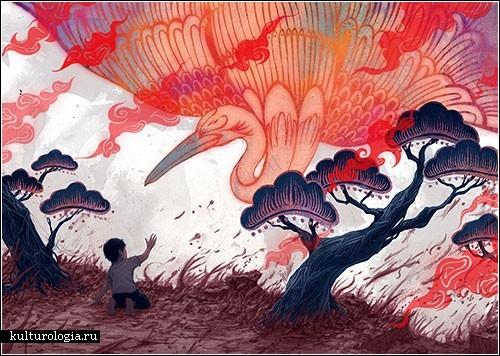 Живопись канадского японца Юты Оноды (Yuta Onoda)
