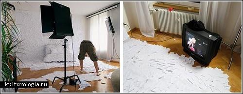 Бумажная зима в собственной квартире