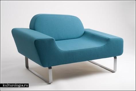 Мебель от норвежских студентов (выставка Greenhouse)