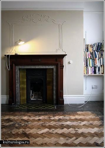 Рисунки проводами по стене