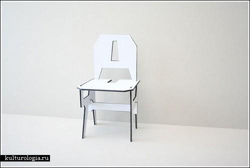 Стул из «стула» (концепт-проект)