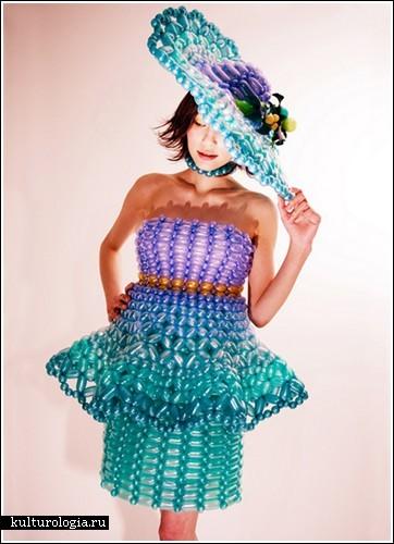 Платья из подручных материалов быстро и красиво