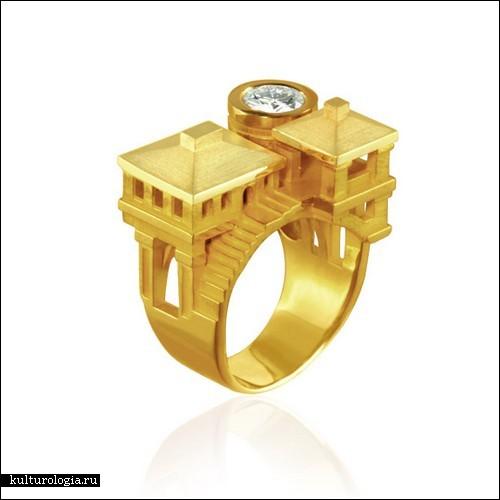 Мечты кольца с домами мечты кольца с