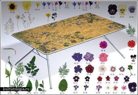 Цветочный стол