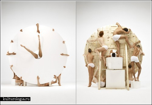 «Человеческие часы» от Romain Laurent