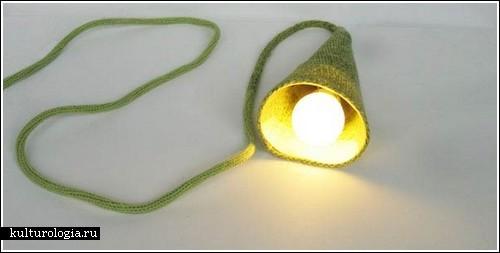 Зв'язаний вручну світильник