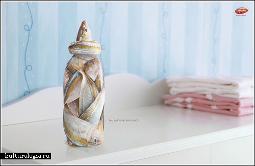 Реклама мыла Lifebuoy от компании Lowe