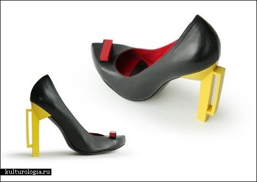 Коллекция геометрической обуви от Nina Hjorth