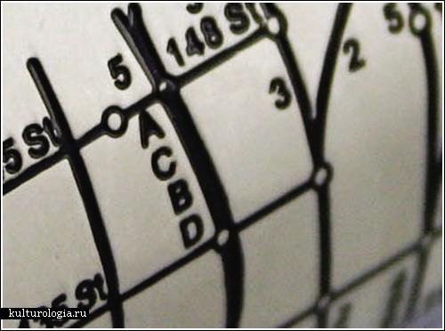 Карта метро на браслете