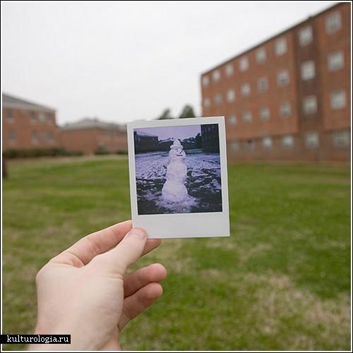 Оптические иллюзии, часть вторая  фотограф Andy Bloxham