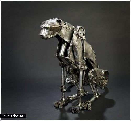 Гепард в стиле стимпанк от Andrew Chase