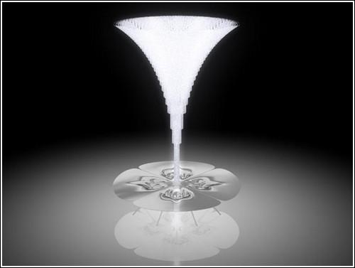Люстра из четверти миллиона кристаллов