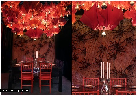 Зонтики-светильники от Shelly Sabel