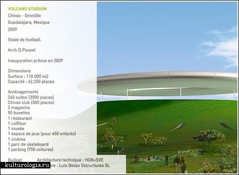 Стадион на вершине вулкана