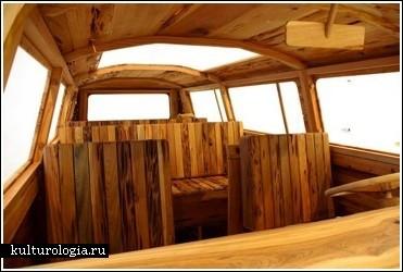 """Деревянный автобус VolkswagenALT="""""""