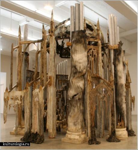 Скульптурные инсталляции Diana Al-Hadid