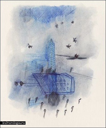 Рисунки шариковой ручкой Анны Эмилии Лаитинен (Anna Emilia Laitinen)