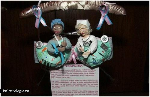 Коллекция бюстгалтеров для проекта «Breast Cancer Awareness»