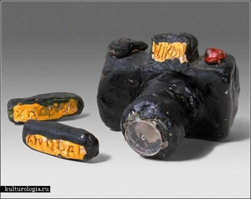 Фотокамеры ручной работы от скульптора Tom Sachs