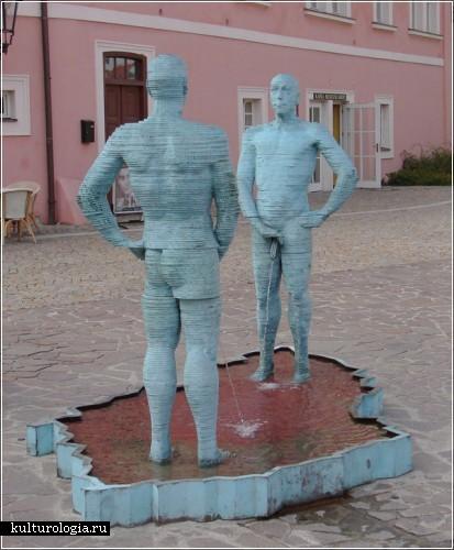 Провокационные и скандальные работы чешского скульптора Давида Черны