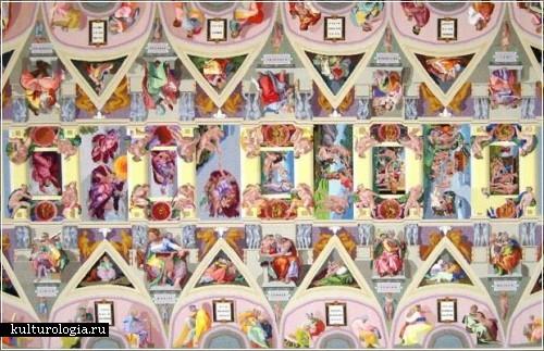 Вышивка знаменитой росписи Сикстинской капеллы. Мастер Джоанне Лопяновски-Робертс  (Joanna Lopianowski-Roberts)