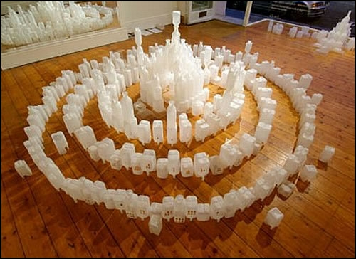 Модель города Атлантида. Автор Gayle Chong Kwan