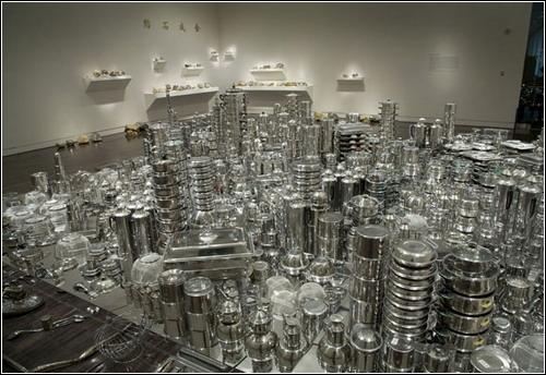 Сан-Франциско из кухонной посуды. Автор Zhan Wang