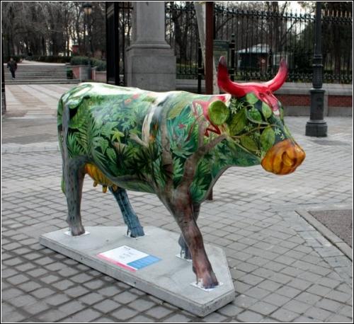 «Парад коров» на улицах Мадрида
