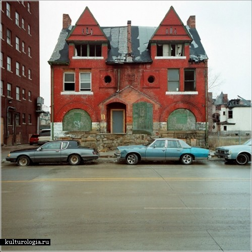 «100 заброшенных домов». Фотопроект Кевина Баумана (Kevin Bauman)