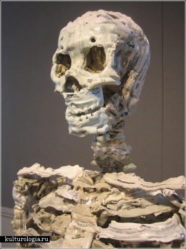 Скульптуры из кассет от Брайана Деттмера (Brian Dettmer)