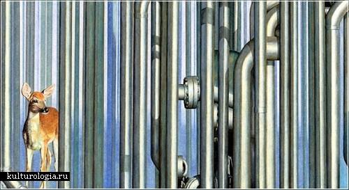 Художественный проект «Unnaturalism» от Дона Саймона (Don Simon)