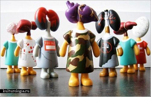 Куклы-доноры от дизайнера Дэвида Фукса (David Foox)
