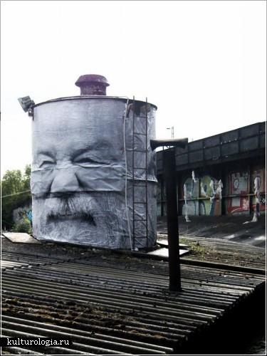 Урбанистическое искусство Mentalgassi