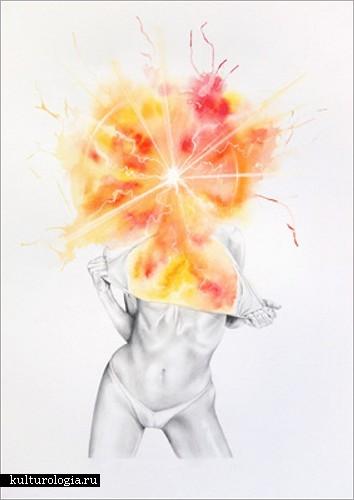 «Экстаз» - серия художественных работ Джеймса Ропера (James Roper)