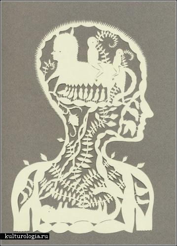 Бумажный арт Эльсы Мора (Elsa Mora)