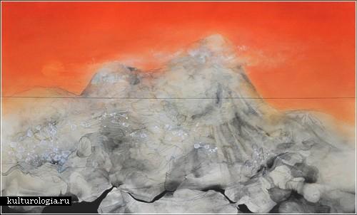 Столкновение природы и человека на холсте Эрин Моррисон (Erin Morrison)
