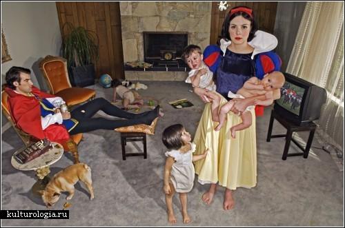 Фотопроект «Падшие принцессы» Дины Голдштейн (Dina Goldstein)