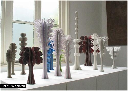 Картонные инсталляции Ферри Ставермана (Ferry Staverman)