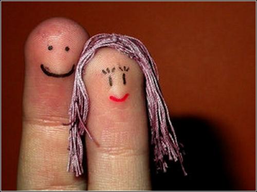 Finger art  - необычный креатив творческих людей