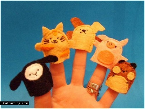 Куклы на пальцы своими руками i