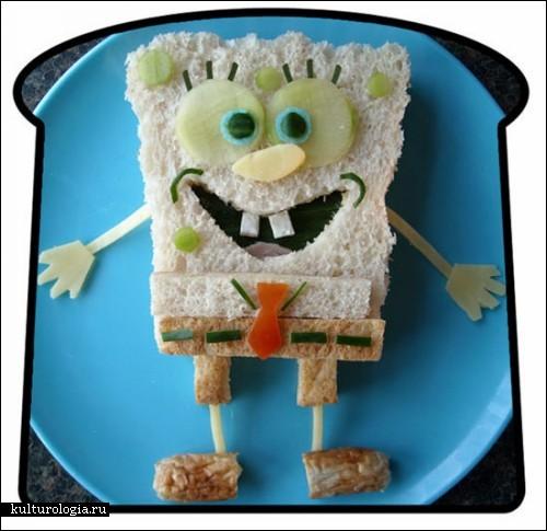 «Funky Lunch» - серия креативных сэндвичей Марка Нортиста (Mark Northeast)