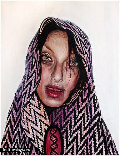 Устрашающая портретная живопись Гэвина Нолана (Gavin Nolan)