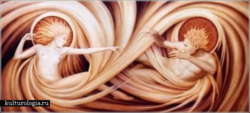 Эзотерическая живопись Эндрю Гонзалеза (Andrew Gonzalez)