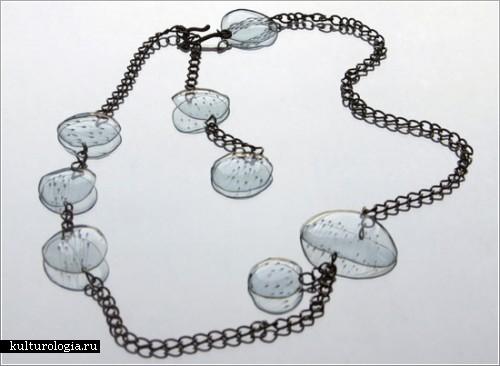 Украшения из пластиковых бутылок от Гульнур Оздаглар (Gulnur Ozdaglar)